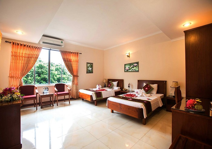 khách sạn Quận 10 giá rẻ - khách sạn Minh Châu phòng