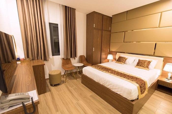 khách sạn Quận 10 giá rẻ - Hue My Hotel phòng