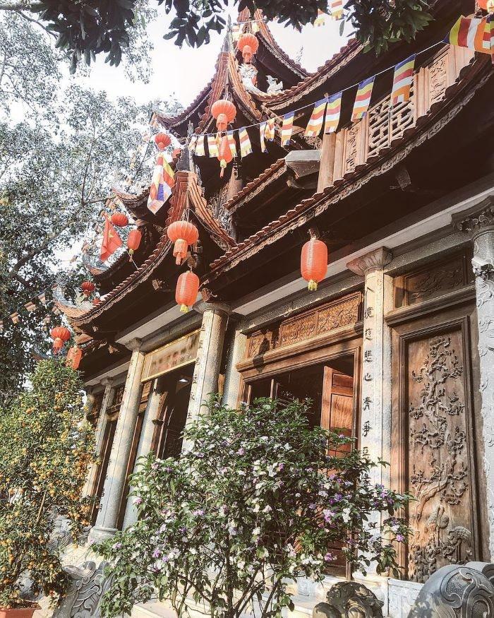 kiến trúc nội công ngoại quốc chùa Thành Lạng Sơn