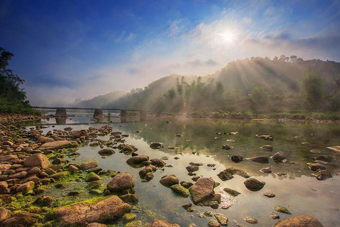 Sông Kỳ Cùng - du lịch Bắc Xa - Lạng Sơn