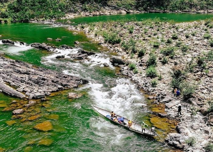 Tới Quảng Bình nhớ ngược dòng, vượt thác ở Sông Long Đại - Thác Tam Lu