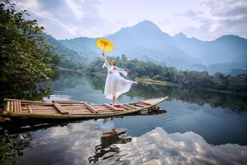 'Chữa lành mọi vết thương' tại khu du lịch Medi Thiên Sơn Hà Nội
