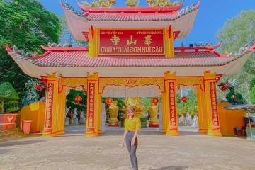 Chùa Thái Sơn núi Cậu Bình Dương - điểm tâm linh thu hút du khách