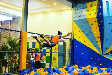Giải tỏa năng lượng cực đã tại công viên Jump Park Nha Trang