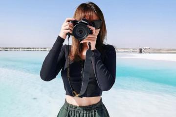 Hồ Dachaidan Emerald Trung Quốc đẹp ngỡ ngàng với màu xanh ngọc lục bảo