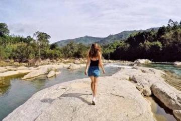 Đi ngắm mây vờn núi ở Hòn Bà Nha Trang