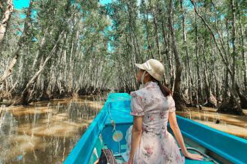 Thỏa sức bung lụa tại khu sinh thái Hương Tràm Cà Mau vui chơi, ăn uống thả ga