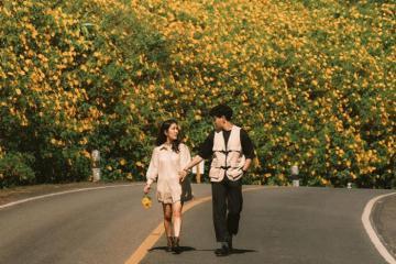 Mê mẩn mùa hoa dã quỳ Mae Hong Son đẹp như cổ tích