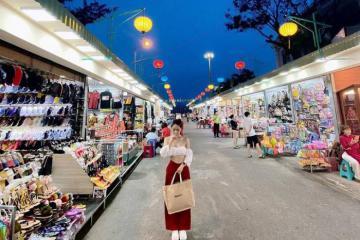 Phố đi bộ Nha Trang - điểm đến về đêm hấp dẫn dành cho giới trẻ