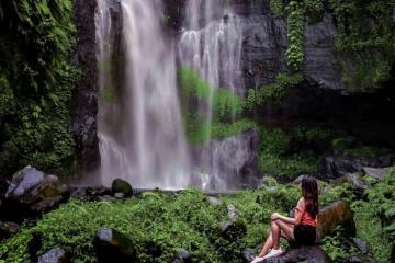Kỳ vĩ vẻ đẹp thác Fiji ở Bali – 'viên ngọc sáng' ẩn giấu giữa núi rừng