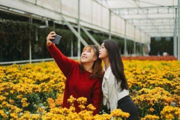 Lạc vào vương quốc hoa cỏ tại Vườn Hoa Nhiệt Đới Mộc Châu