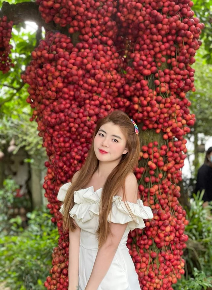 The Red Garden is a very HOT check-in point in Van Hoa in the fall.Photo: Bon Phuong Red Garden