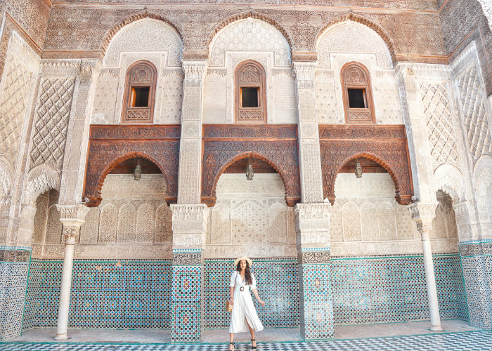 Tourist city of Fes, a heroic part of Morocco's history