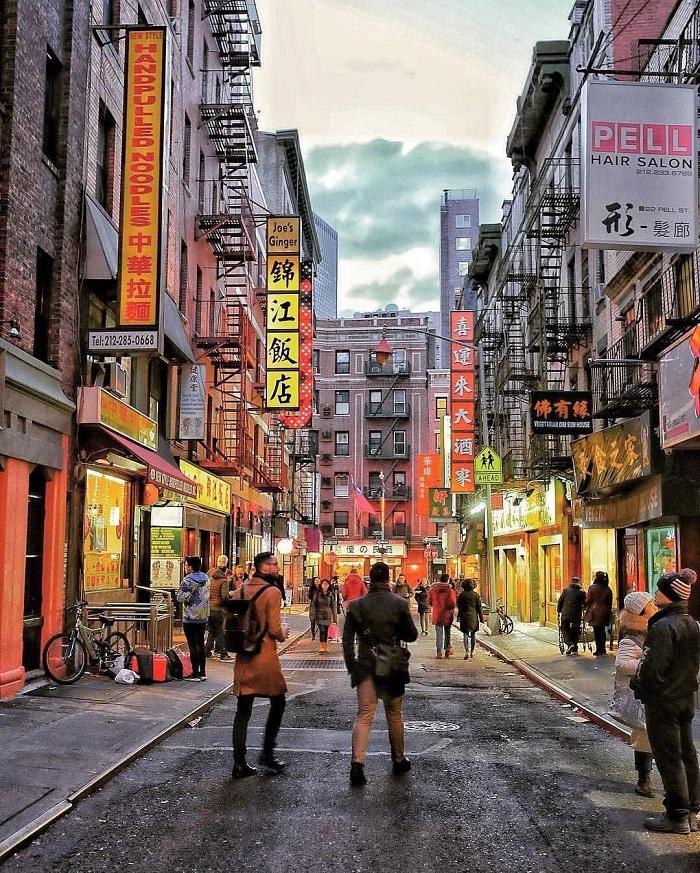 Hành trình đến thăm Khu phố Tàu ở New York