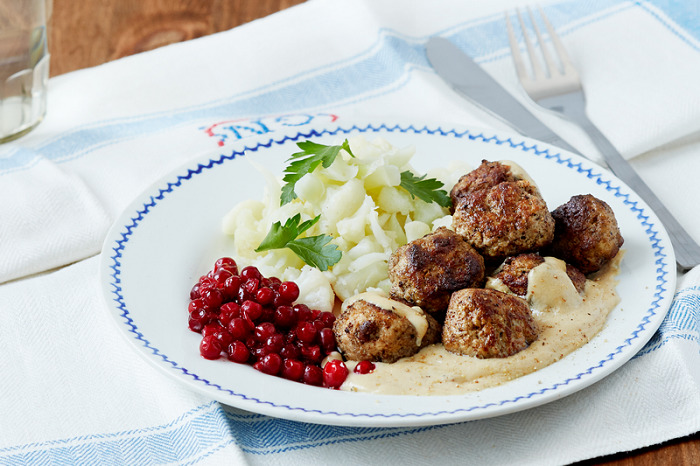 Can't resist famous Swedish dishes!
