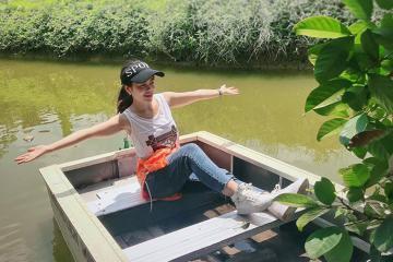 Lập team 'phá đảo' khu du lịch sinh thái Bảo Thạch Bến Tre