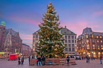 Tháng 12, Đi du lịch Amsterdam đắm mình trong sắc màu Lễ hội