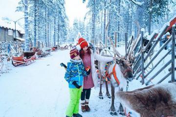 Đón giáng sinh ở Santa Claus Village, quê hương của Ông già Noel