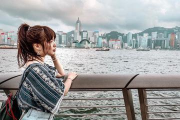 Đi không muốn về tại bến cảng Victoria Hong Kong