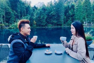 Kha Ly - Thanh Duy đắm say vẻ đẹp lãng mạn của đất nước Thụy Sĩ
