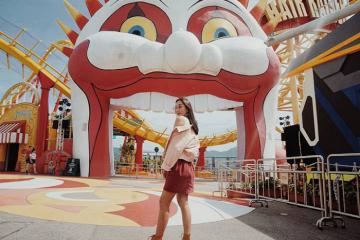 'Lúc đi hết mình, lúc về hết buồn' tại Ocean Park Hong Kong