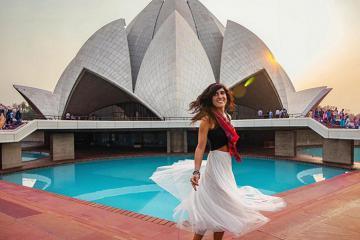 Đền Hoa Sen Ấn Độ - một tuyệt tác của kiến trúc nhân loại