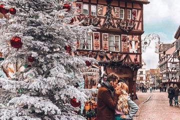Ngọt ngào Giáng sinh tại Colmar Pháp
