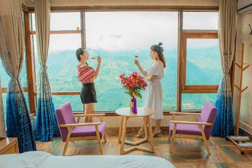 Combo Sapa 2N1Đ nghỉ khách sạn 3* The Grand Blue + Xe đưa đón + buffet chỉ từ 650.000VNĐ