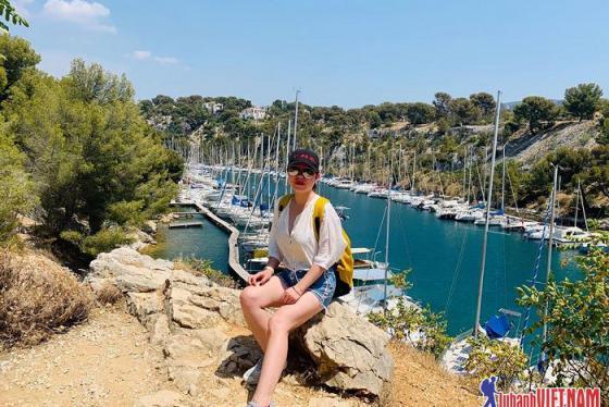 Chia sẻ kinh nghiệm tham gia du lịch mạo hiểm Calanque ở Cassis nước Pháp