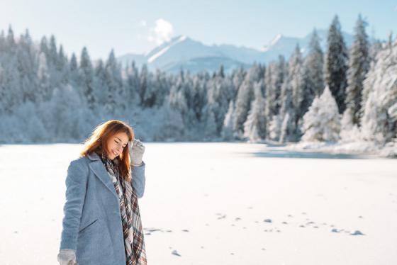 Ngất ngây với vẻ đẹp mùa đông ở Thụy Sĩ