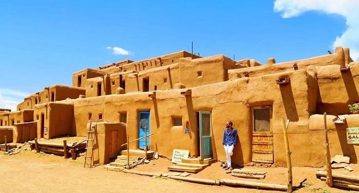 Taos Pueblo -  địa danh gắn với lịch sử Mỹ