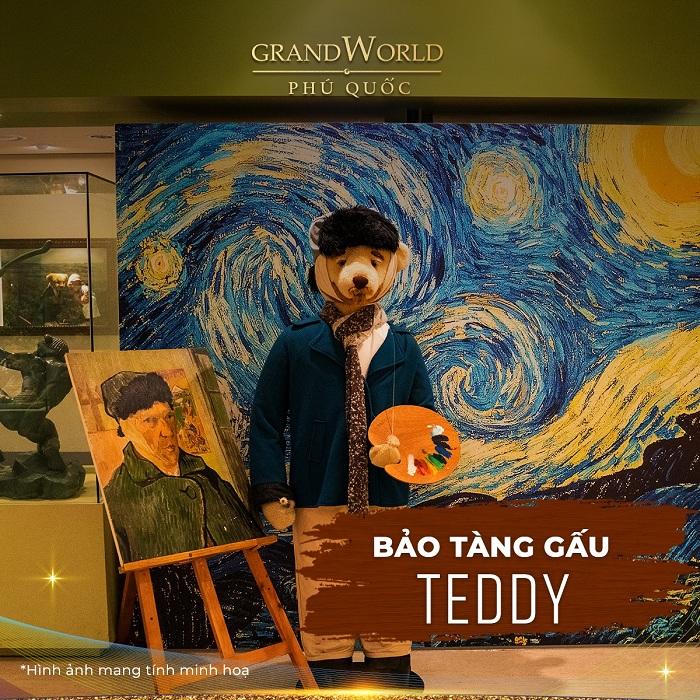 Explore Grand World Phu Quoc - Teddy bear museum