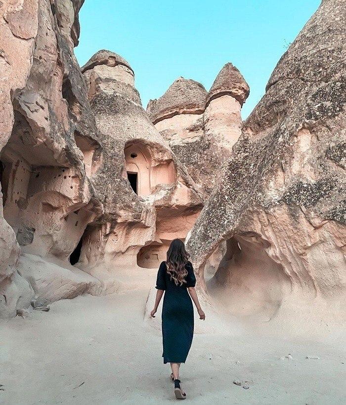 Pasabag là thung lũng kỳ lạ ở Thổ Nhĩ Kỳ hấp dẫn du khách