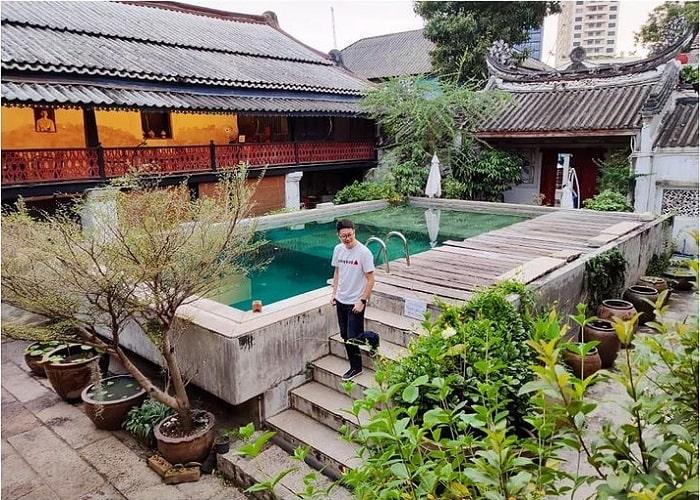 The architecture of Sol Heng Tai . villa