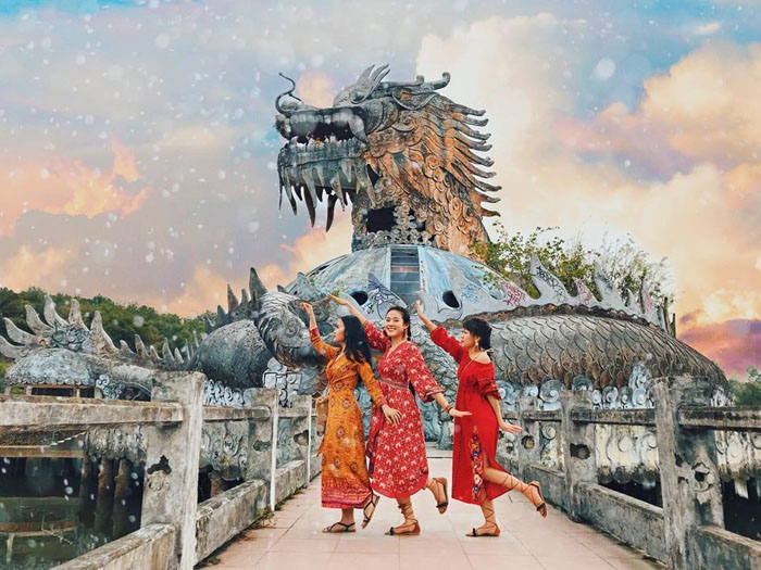 Discover the enchanting beauty of the abandoned park in Hue - Vietnam  Tourism