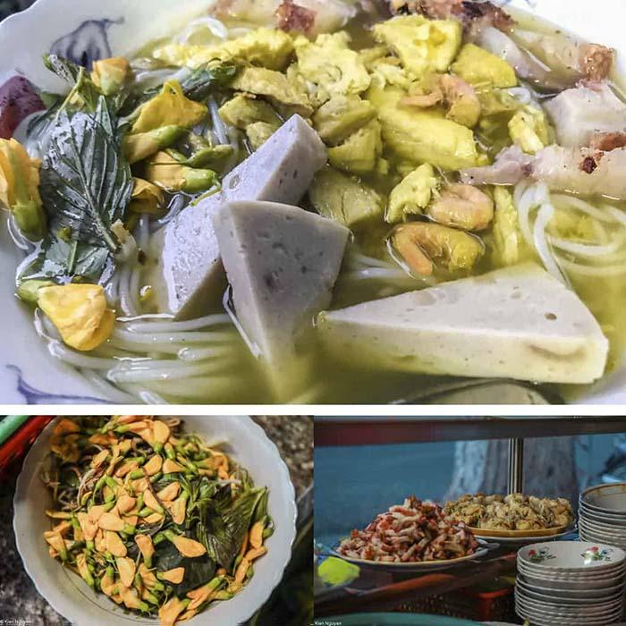 Travel Experience Tinh Bien An Giang - Chau Doc fish noodle soup