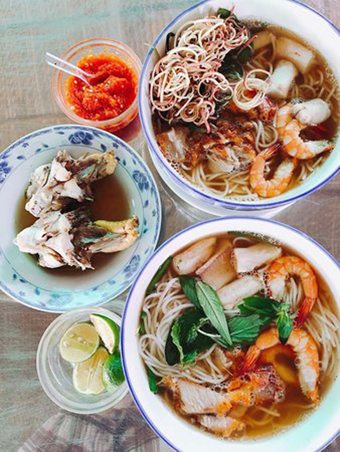 List of delicious vermicelli dishes in Vietnam - Special noodle soup