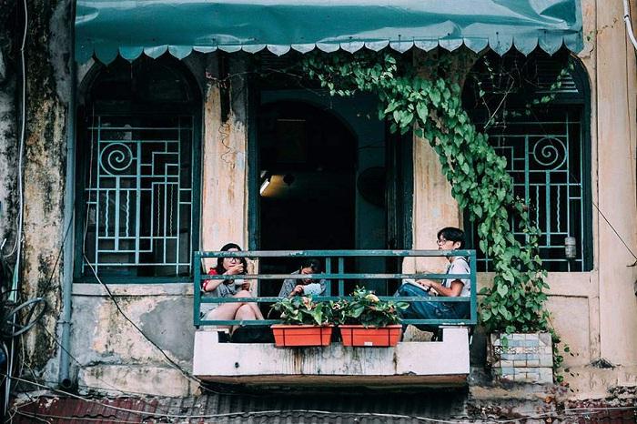 Cafe Đinh - quán cà phê view Hồ Gươm siêu đẹp ở Hà Thành