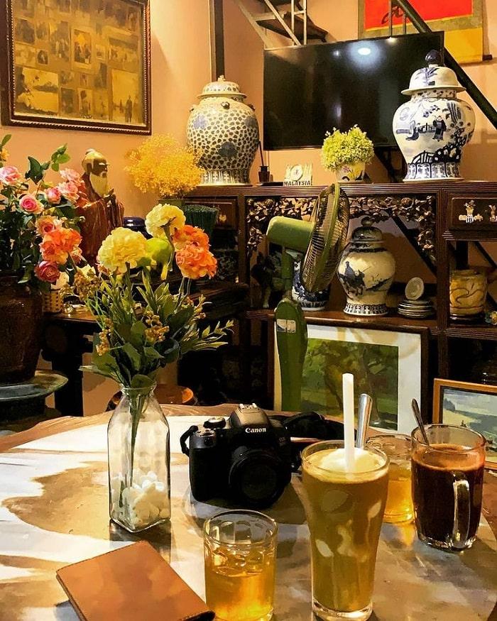 cafe phố cổ - quán cà phê view Hồ Gươm siêu đẹp ở Hà Thành