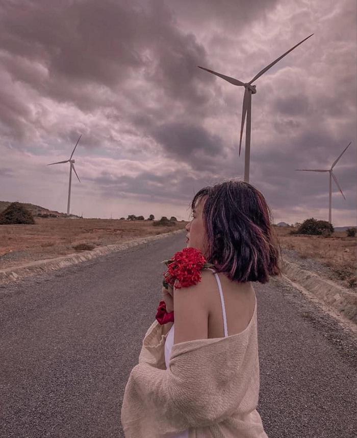 Tuy Phong - cánh đồng quạt gió ở Bình Thuận nổi tiếng nhất