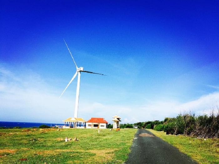 điện phong Phú quý - cánh đồng quạt gió ở Bình Thuận quan trọng