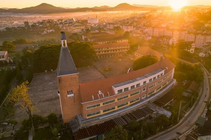 Dalat College of Education - European architecture