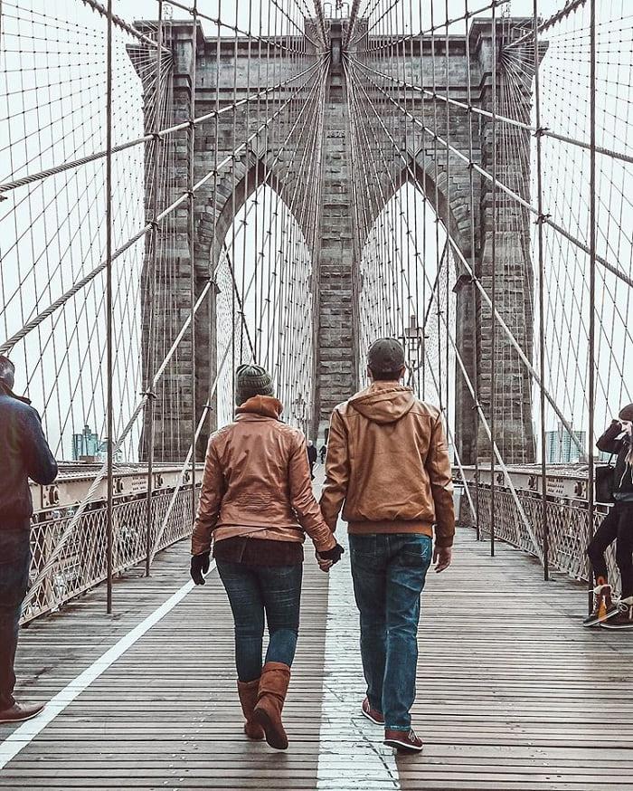 Cầu Brooklyn -  địa danh gắn với lịch sử Mỹ