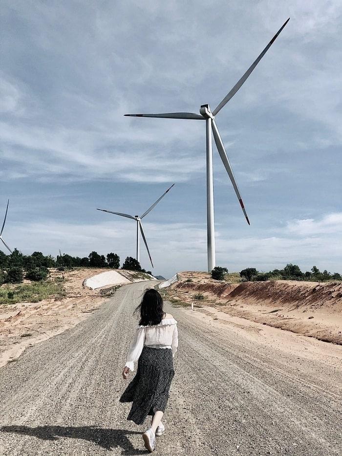 Điện Phong - cánh đồng quạt gió ở Bình Thuận mới toanh