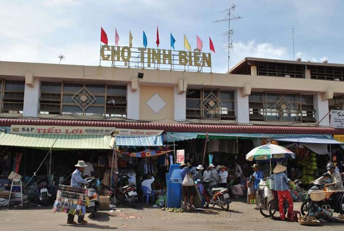 Travel Experience Tinh Bien An Giang - Tinh Bien Market
