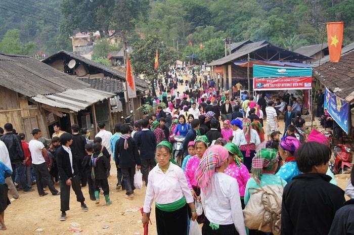 Chợ tình Khâu Vai - một trong những chợ phiên Hà Giang lãng mạn nhất
