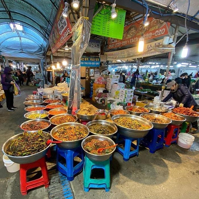 chợ truyền thống ở Jeju 5 ngày