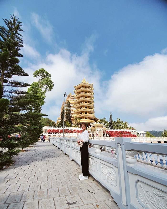 Travel experience Tinh Bien An Giang - Van Linh Pagoda