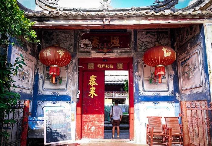 gate - interesting point of Sol Heng Tai villa