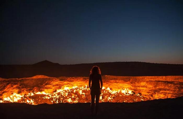 Cửa địa ngục, Turkmenistan - Top những địa điểm bí ẩn nhất trên thế giới